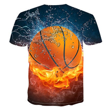 Load image into Gallery viewer, 3D Basketball T-Shirt