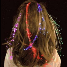 Load image into Gallery viewer, 5Pcs LED Flashing Hair Braids