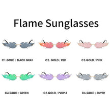 Load image into Gallery viewer, Luxury Fashion Flame Rimless Sunglasses