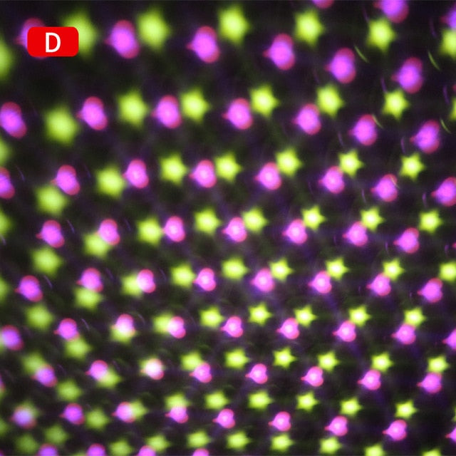 Colorful Light Patterned Wall Projector