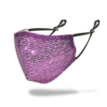 Load image into Gallery viewer, Multiple Color Sequin Bling Mask