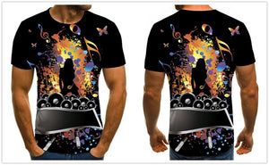 3D Rock Star T-shirt