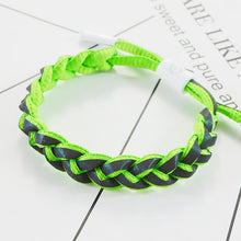 Load image into Gallery viewer, Reflective Holographic Woven Fluorescent Bracelet