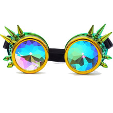 Load image into Gallery viewer, Kaleidoscope Glasses Steampunk Goggles