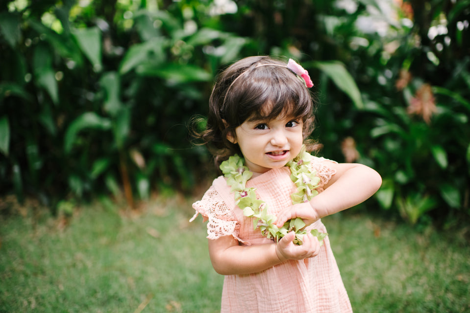 The 411 On Keiki (Children) Lei