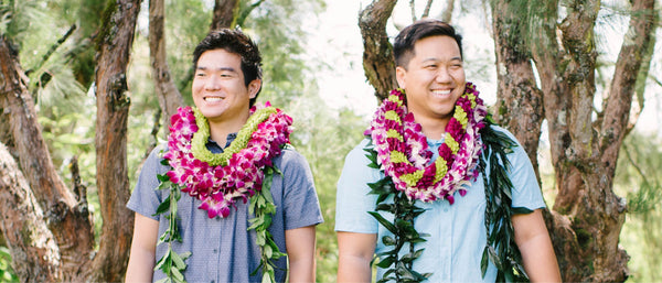 Lei For Men - guys lei - lei for male - Hawaii Lei Stand