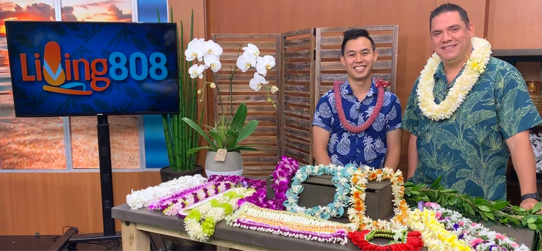 Hawaii Lei Stand - Living808 KHON2 News Graduation Lei Shipping