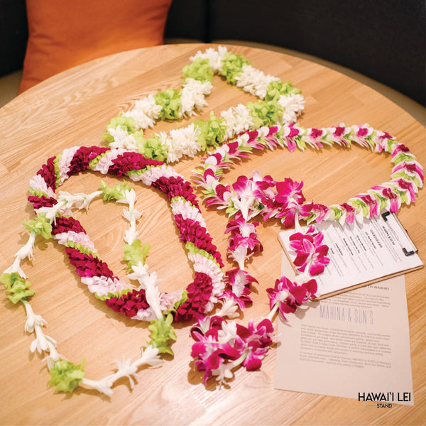 Kahala Lei Set Lei Shipping And Delivery From Honolulu Hawaii