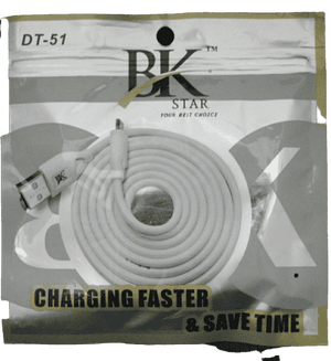 BK Star DT-51 Type C Fastest Data Sync & Fastest Charging   Data Cable - Vprefer