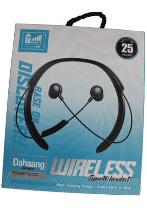 7 Colours Dahaang Series  Super Wireless Bluetooth Earphone - Vprefer