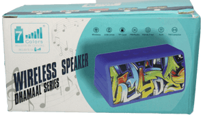7 Colours Super Bass Wireless Speker - Vprefer