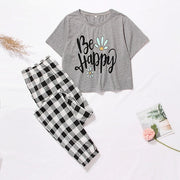 Be Happy Pajama Set