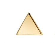 BVLA Gold Pin with Flat Triangle