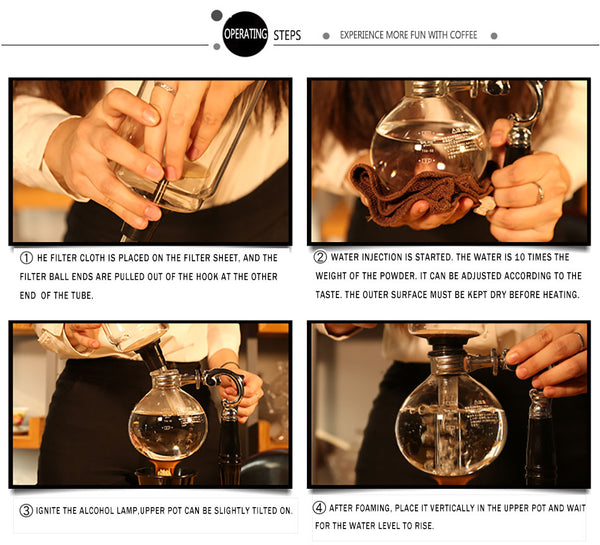 Syphon Siphon coffee maker picture
