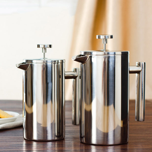 Vacuum Insulated French Press