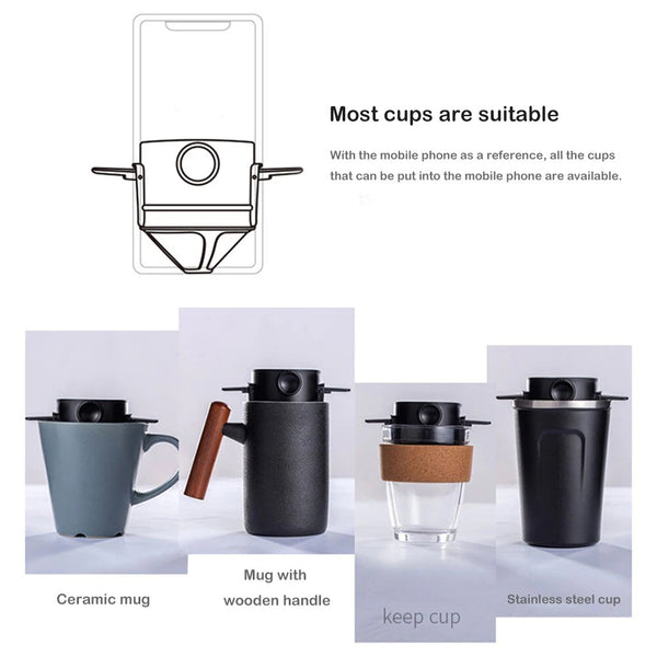 Foldable Reuse Coffee Filter