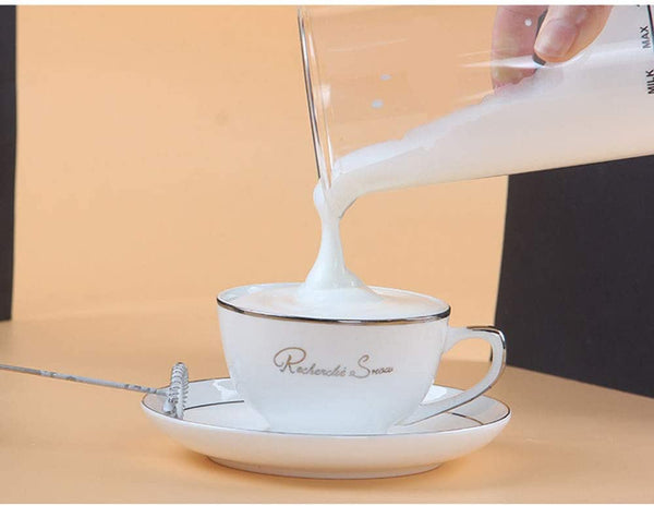 Electric Coffee Milk Frother Foaming