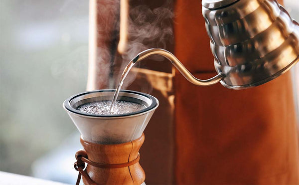 Gooseneck Pour Over Coffee Kettle With Thermometer