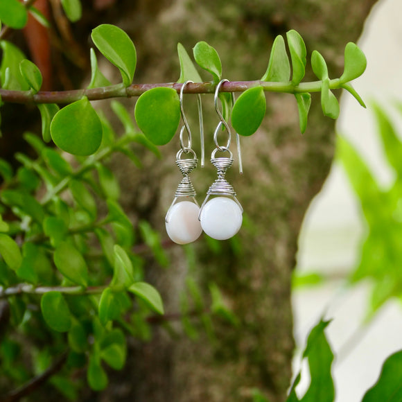 Beautiful Handmade Earrings - Hooked on Wire