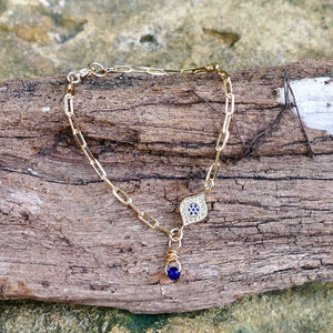 Beautiful Handmade Gold Filled Bracelet - Hooked on Wire