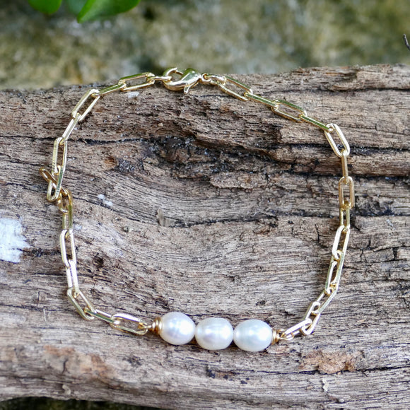 Beautiful Handmade Gold Filled Bracelet