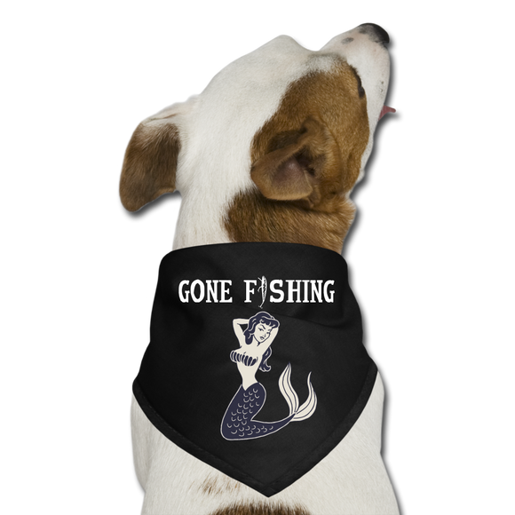 Dog Bandana Gone Fishing/ Mermaid - Hooked on Wire