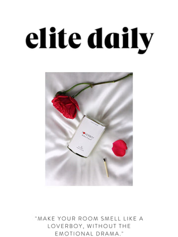 """ELITE DAILY """"Make your room smell like a loverboy, without the emotional drama."""""""