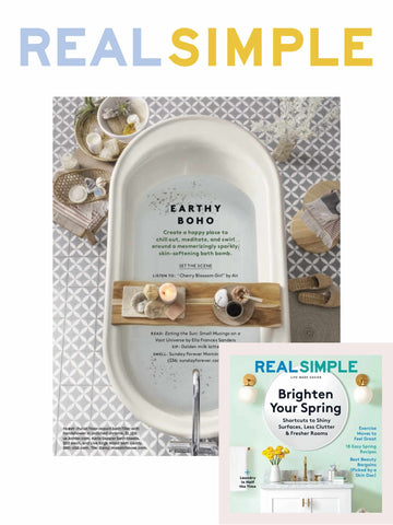 REAL SIMPLE SUNDAY FOREVER PRESS HIT