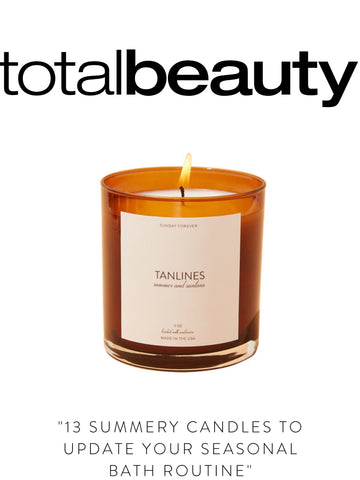 """TOTAL BEAUTY """"13 Summery Candles to Update Your Seasonal Bath Routine"""""""