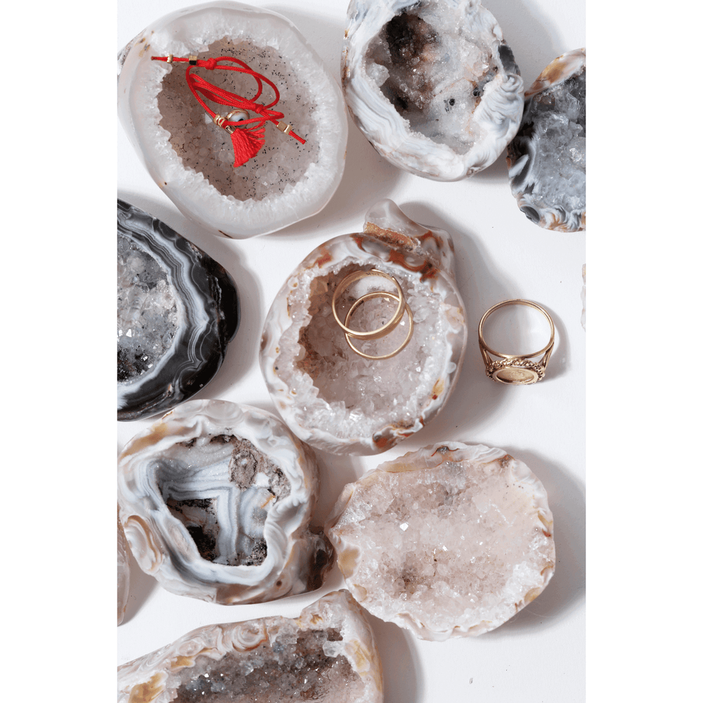 Sunday Forever NYC Geode Ring Dish