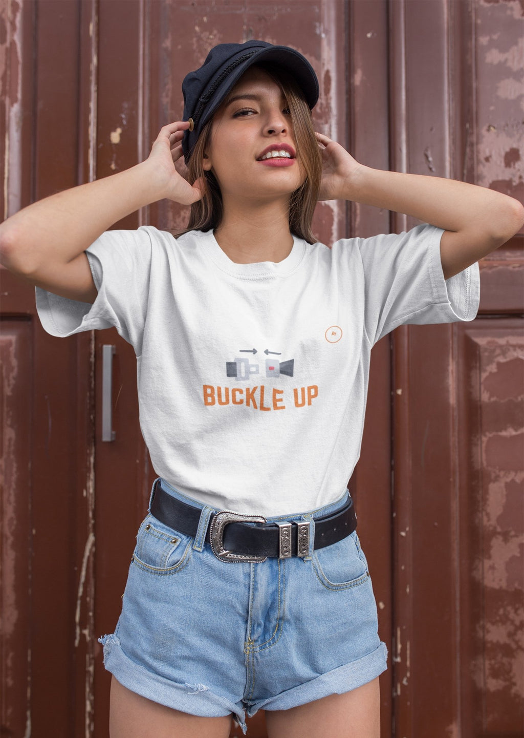 Buckle Up Unisex Heavy Cotton Tee - MOODEROON