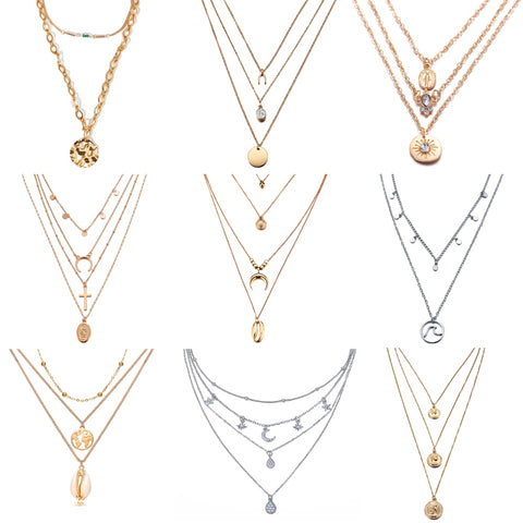 Multi-layer Necklaces & Pendants
