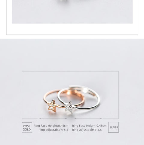 Star Ring for Women