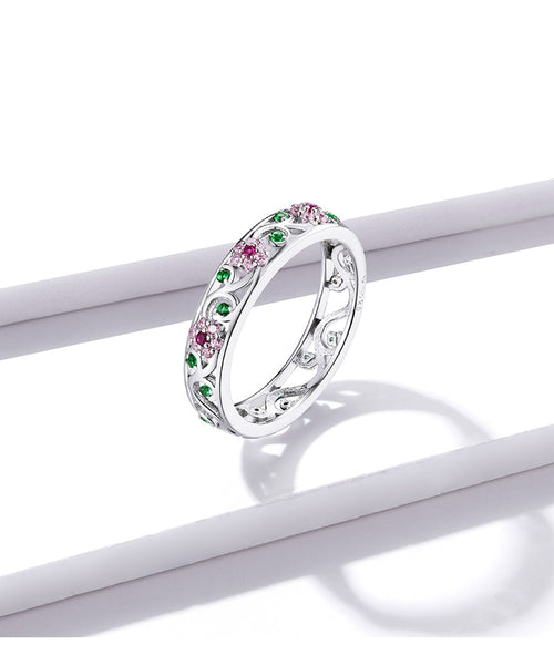 Floral Patterned Ring
