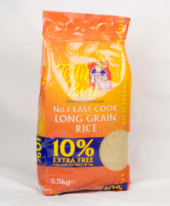 Tollyboy Easy Cook rice 5kg