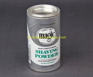 MagicShave Powder Silver