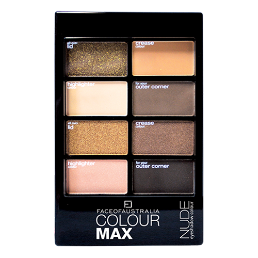 Colour Max Eyeshadow Palette - Nude