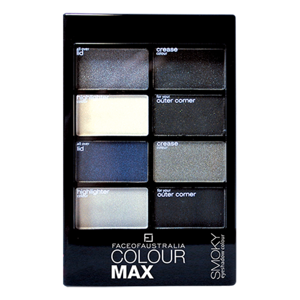 Colour Max Eyeshadow Palette - Smoky