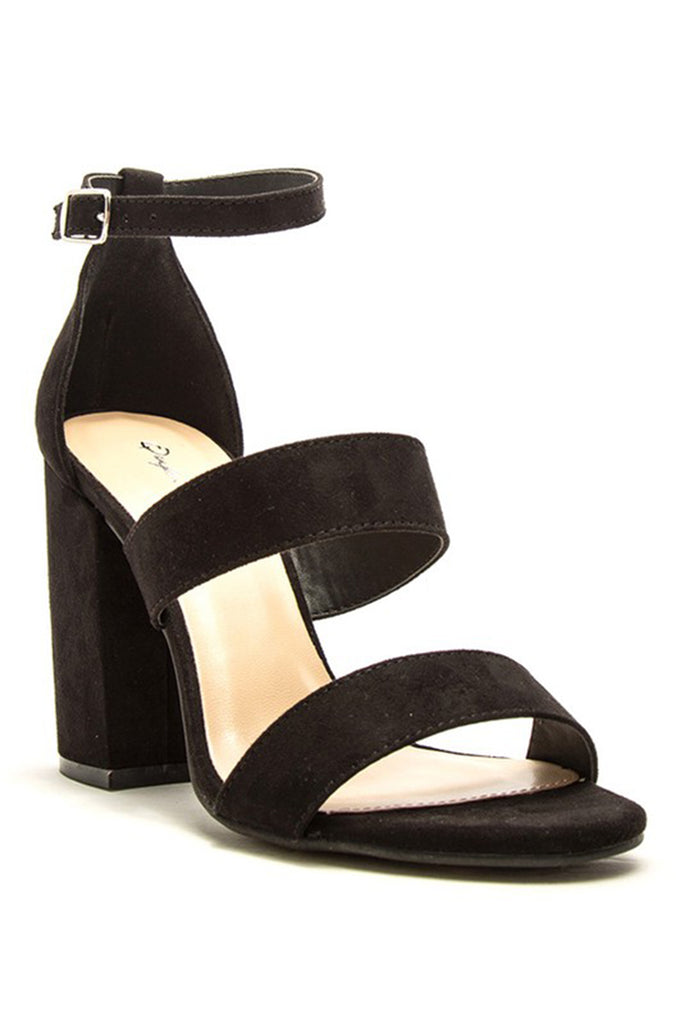 ankle strap heels - Truly Yours