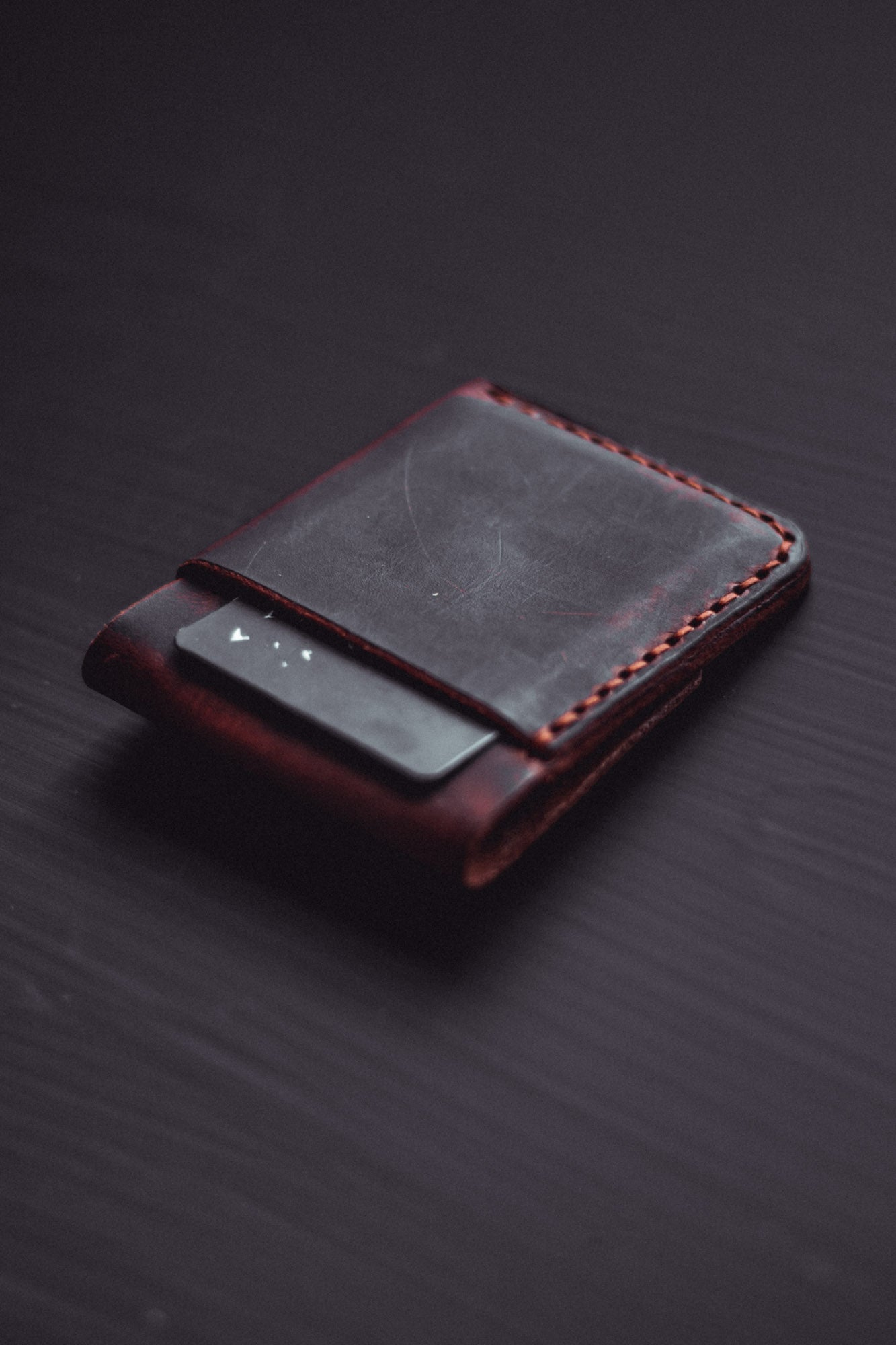 Atmos Fold Wallet - Strauss & Co Leathercraft