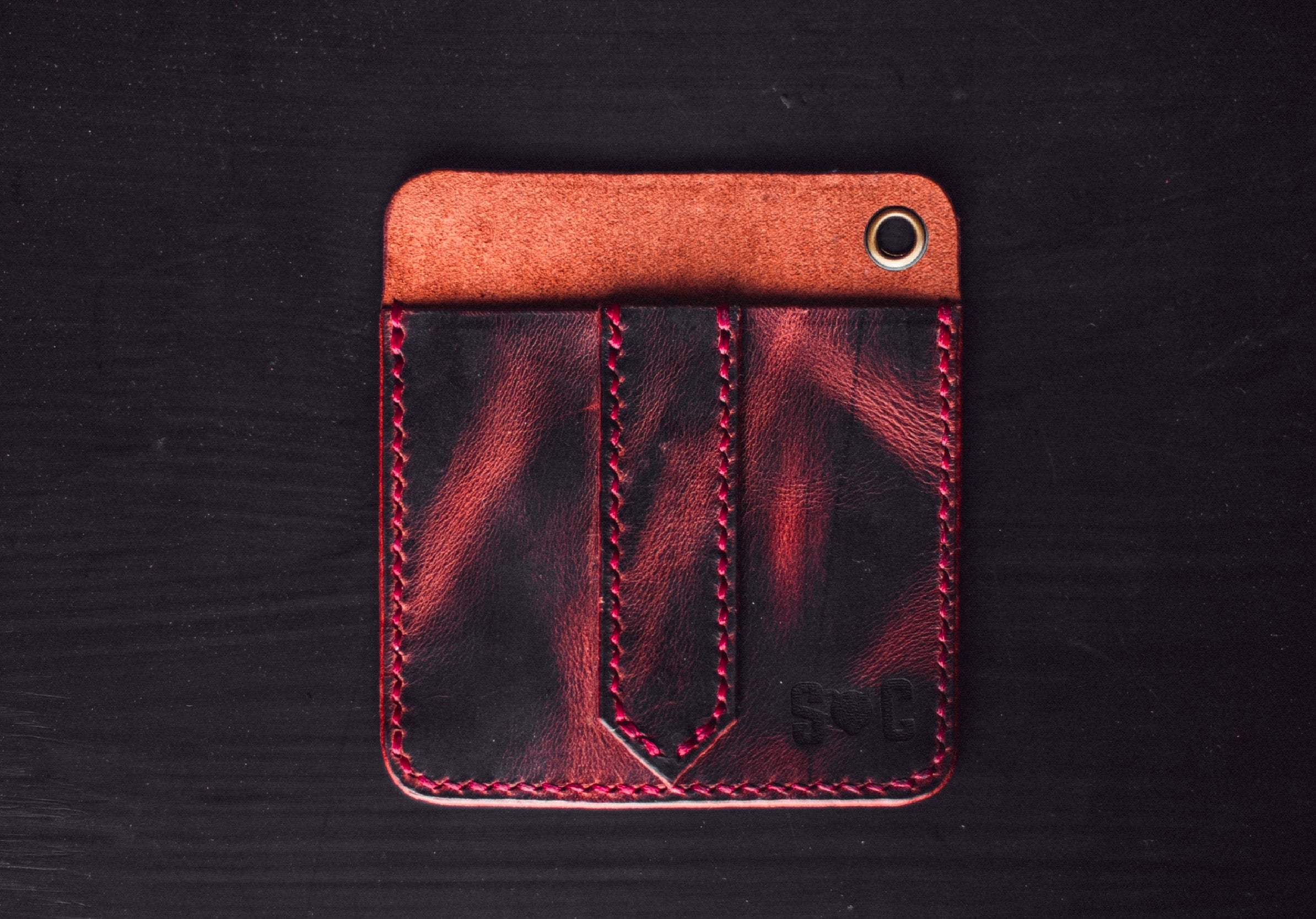Monolith Caddy - Strauss & Co Leathercraft