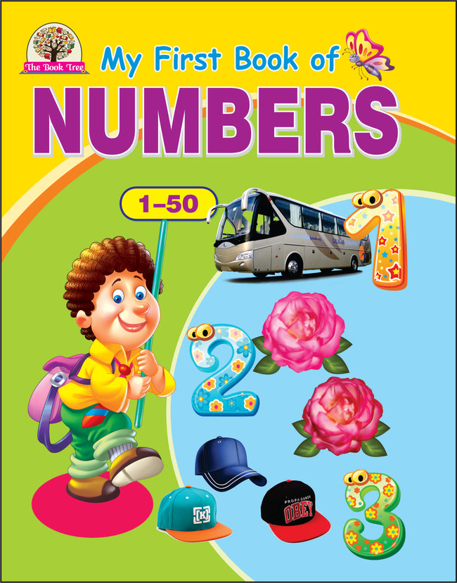 My First Book Of Numbers 1 to 50