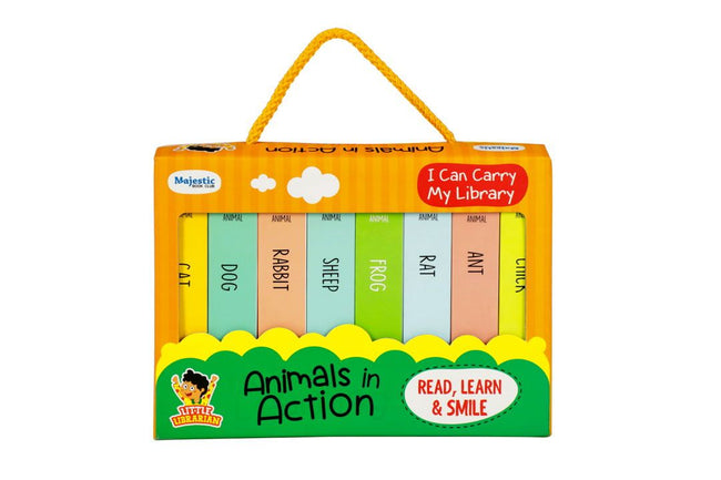 Animals in Action-Little Library