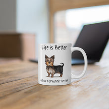 Load image into Gallery viewer, Yorkshire terrier mug