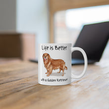 Load image into Gallery viewer, Golden retriever mug
