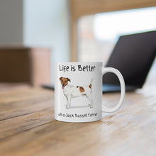 Load image into Gallery viewer, Jack Russell terrier mug