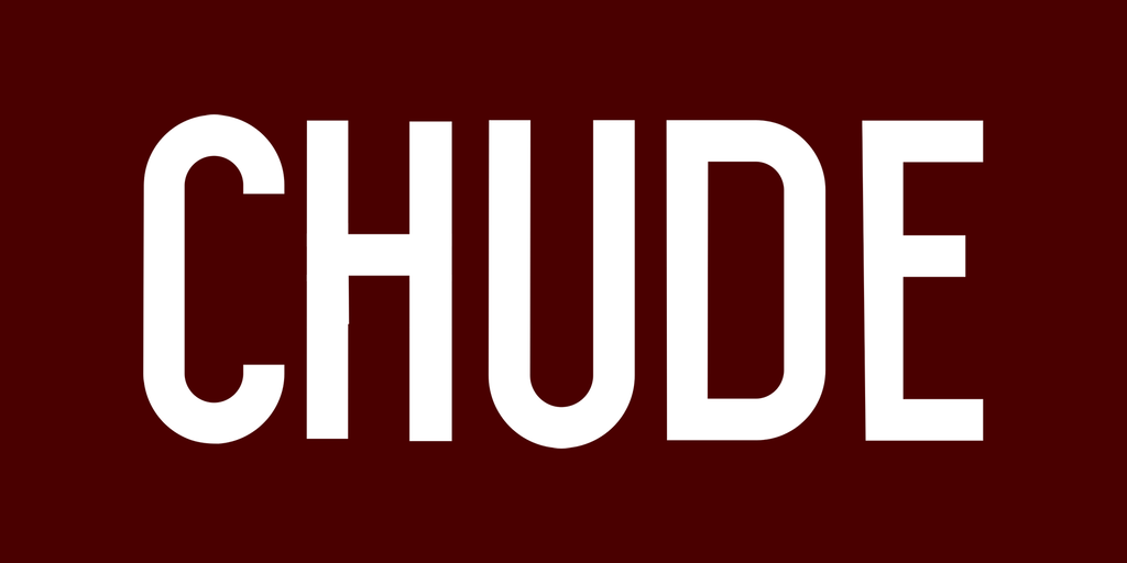 CHUDE premium all-natural beard and shaving products.