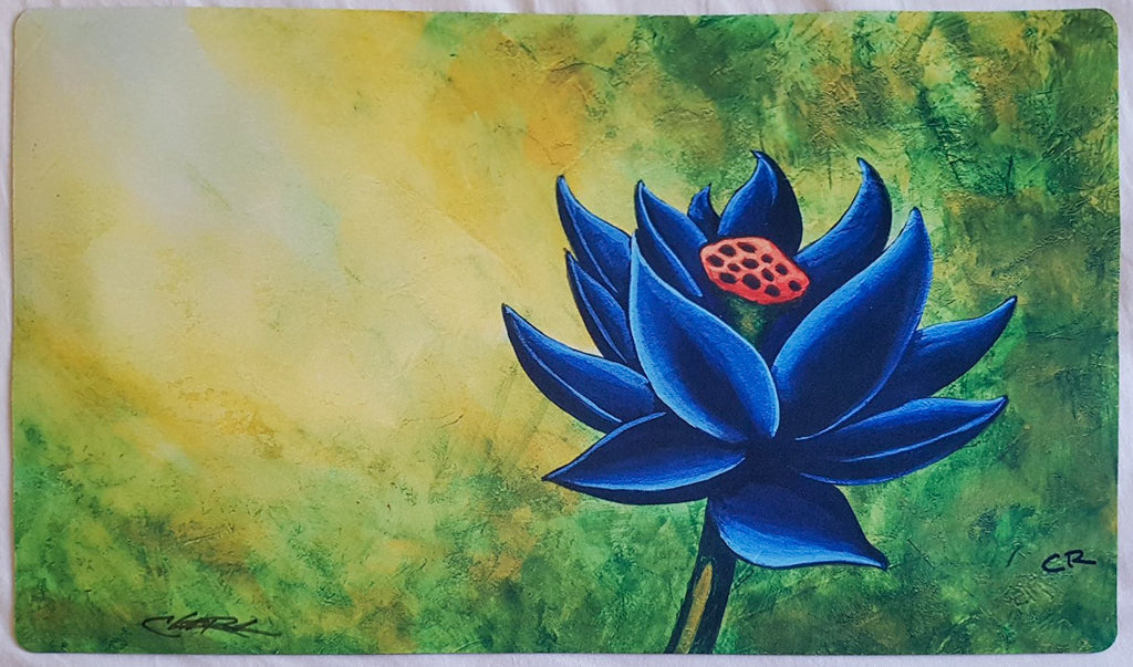 Black Lotus - Signed by Artist - MTG Playmat