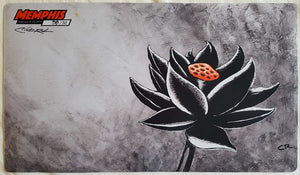 Black Lotus - Grand Prix Memphis 2015 - Signed by Artist - Limited Edition - MTG Playmat