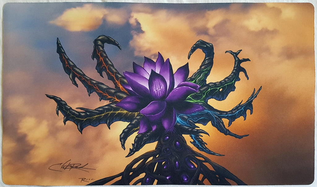 Black Lotus Reimagined - Signed by Artist - MTG Playmat